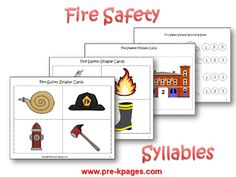 Fire Safety Theme for Preschool