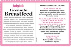 Licensed to Breastfeed