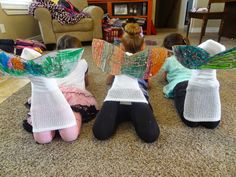 Mermaid Tails I was planning our Ocean Theme at Preschool and I came across this idea for making Mermaid Tails. I have a group of girls very into this so I decided we had to do this! I picked up so…