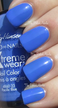 Sally Hansen Pacific Blue...one of my FAVORITE colors!