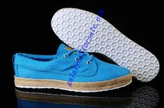 Adidas Neo Pirate Canvas Hemp Rope Italy Blue