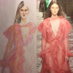 Painting & Drawing, Artworks, Aurora Sleeping Beauty, Disney Princess, Illustration, Collection, Fashion, Moda, Fashion Styles