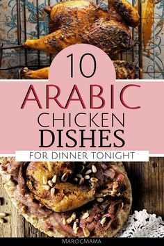 arabic food 10 Arabic Chicken Recipes for Dinner Tonight - MarocMama Middle East Food, Middle Eastern Dishes, Middle Eastern Recipes, Chicken Dishes For Dinner, Dinner Dishes, Arabic Chicken Recipes, Arabic Recipes, Lebanese Recipes, Gastronomia