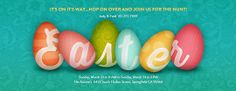 Spell it in #Easter Eggs! Send your free Easter invitations today.