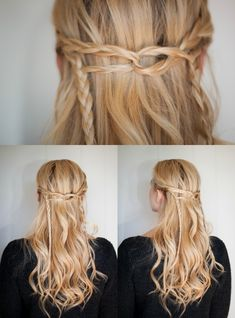 Accent Braid   Hairstyle