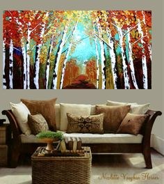 i could totally paint this and it would look fab in my living room!