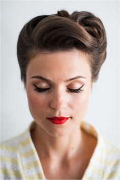 Die 96 Besten Bilder Von 50er Jahre Vintage Hairstyles Vintage