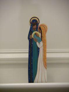 One piece nativity set from Venezuela