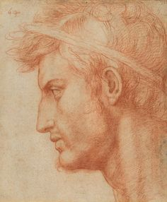 Today known as the #IdesOfMarch is the anniversary of the assassination of Julius Caesar. Andrea del Sarto (Andrea d'Agnolo) (Italian 14861530). Study for the Head of Julius Caesar ca. 152021. #TheMet #JuliusCeasar #MetonPaper100 by metmuseum