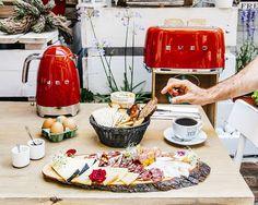 La colazione Internazionale è quella che preferisco! Partecipa anche tu al concorso #BuongiornoSMEG, in palio gli elettrodomestici della linea 50's style