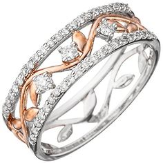 Dreambase Damen-Ring teilrotvergoldet 14 Karat (585) Weiß... https://www.amazon.de/dp/B01HHGC7XM/?m=A37R2BYHN7XPNV