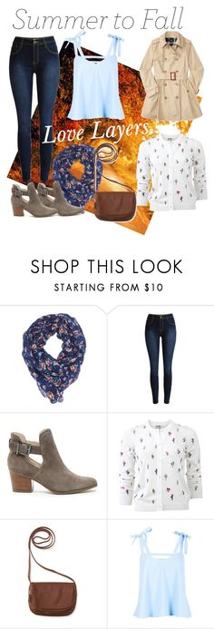 """""""Summer to Fall"""" by lauralion88 ❤ liked on Polyvore featuring Charlotte Russe, Sole Society, Kenzo, Aéropostale and Boohoo"""