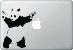 The Shooting Panda - Vinyl Laptop or Macbook Decal Yadda-Yadda Design Co.
