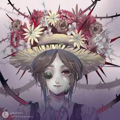 【第五人格】园丁 Watercolor Feather, V Games, Identity Art, Spooky Games, Rwby, Cool Drawings, Kawaii Anime, Art Girl, Creepy