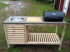 Picture of The perfect barbeque relatively inexpensive DIY outdoor kitchen
