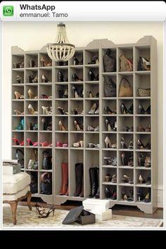Buen organizador de zapatos!