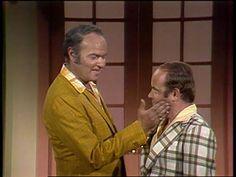 an 8.5x11 photograph Harvey Korman and Tim Conway of the Carol Burnette Show  ..