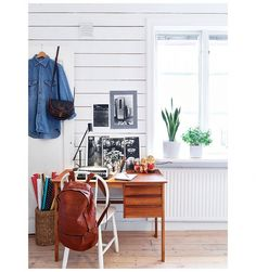 Zweeds appartement vol kleur en vintage