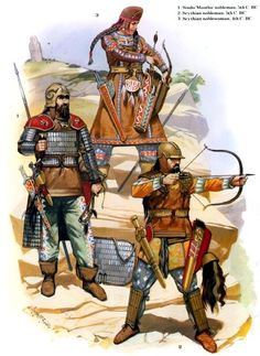 Scythians  samnite disc armour - Google Search