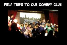 Improv 4 Kids Shows host group trips to schools talking field trips to NYC at the Broadway Comedy Club.