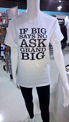 """Ask GBig"" White Tee"