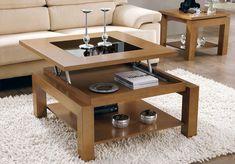 mesa centro elevable y expositora 2