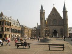'Binnenhof with Ridderzaal (Knight's Hall)', The Hague