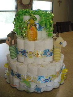 Medium Diaper Cake