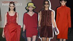 Tendência: Vermelho na moda no Inverno 2013   All you need is red.