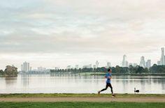 Albert Park running track