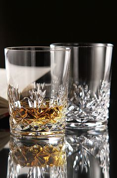 Cashs Annestown Single Malt Scotch Glasses from Crystal Classics
