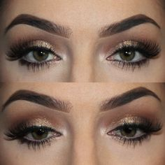 Stylish Brown Smokey Eye Makeup For Girls 2016
