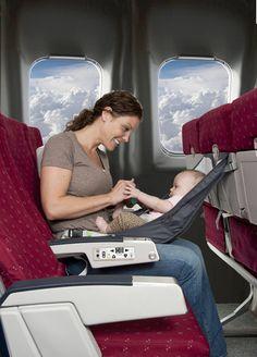 FlyeBaby Airplane Seat Child Comfort System #baby #travel