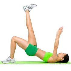 5 ejercicios para un abdomen plano
