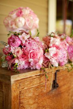 Bride & Maid's Bouquets