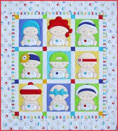 Amy Bradley Designs Babies quilt pattern