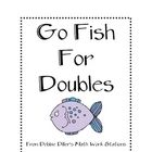 Freebie!!!! This is a Go Fish game to practice doubles. If the player has a card that looks like a domino with 9 dots on each side, he will ask for the double ...