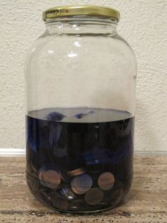 at Day In & Day Out: Mineral Dye: Copper Penny Blue http://perlillapets.blogspot.ca/2012/02/tutorial-creative-recycling-rose-made.html