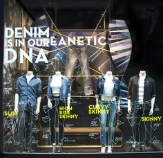 "GUESS DENIM, ""JEANETICS: Denim Is In Our DNA"", pinned by Ton van der Veer"