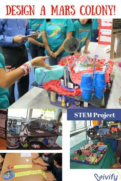 Design a colony on Mars! Take your STEM classroom or program to the next level with this in-depth engineering design STEM challenge. Students will apply scientific concepts, math skills, critical thinking, research, and engineering design to plan a long term habitat on Mars.