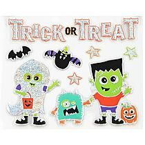 Totally Ghoul Halloween 12 X12 Bling Dimensional Wall Art - Trick Treat