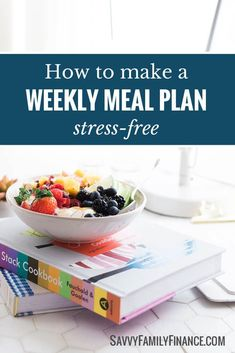 Meal planning is the best way to both save money and time in the kitchen. Find out how to do it simply and easily.