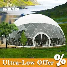 China Dia Round Geodesic Dome Home Tent with Plans Greenhouse Calculator, Find details about China Round Homes, Domes Homes from Dia Round Geodesic Dome Home Tent with Plans Greenhouse Calculator - Shelter Tent Manufacturing (Beijing) Co. Home Greenhouse, Greenhouse Gardening, Greenhouse Ideas, Yurt Living, Geodesic Dome Homes, Shelter Tent, Pvc Windows, Tent Decorations, Luxury Tents