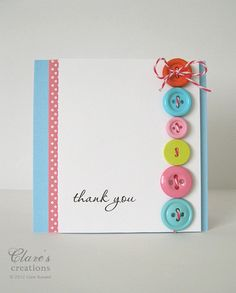 Buttons and Twine by clare