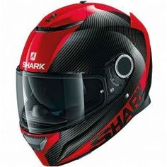 Casco integral SHARK Spartan Carbon Rojo