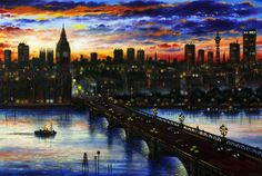 Wouldn't it be great if the views over Westminster bridge looked this good every day? Copyright John Duffin