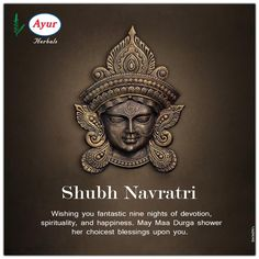navratri wishes Happy Navratri Ayur Herbals wishes you all fantastic nine nights of devotion, spirituality, and happiness. May Maa Durga shower her choicest blessings u Lord Durga, Durga Maa, Navratri Special, Happy Navratri, Navratri Wishes, Hindu Festivals, Indian Paintings, Important Dates, Good Morning Quotes