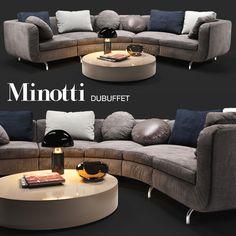 Perfect Sofa Minotti Dubuffet Max D Model