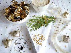 Inspiracje Projektantek Diana, Napkins, Tableware, Dinnerware, Towels, Dinner Napkins, Tablewares, Dishes, Place Settings