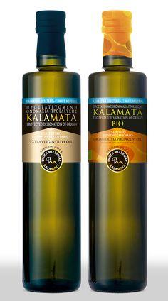 """Messinia Union"" PDO Kalamata extra virgin olive oil - YonasDesign"